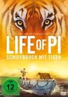 Life Of Pi - Schiffbruch Mit Tiger - [DE] DVD